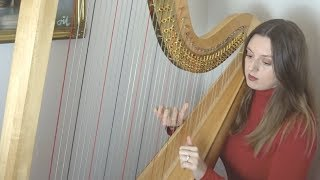 Glasgow Love Theme from Love Actually - Craig Armstrong (Harp cover)