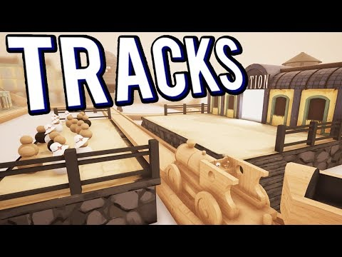 BUILDING WITH TOY TRAINS - TRACKS - THE TRAIN SET GAME GAMEPLAY LETS PLAY