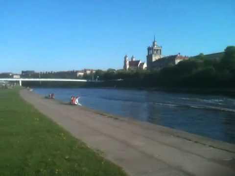 Neris river Vilnius May 2011