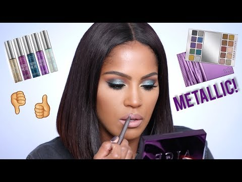 Easy UD Heavy Metal Holiday Tutorial | How to Apply Glitter