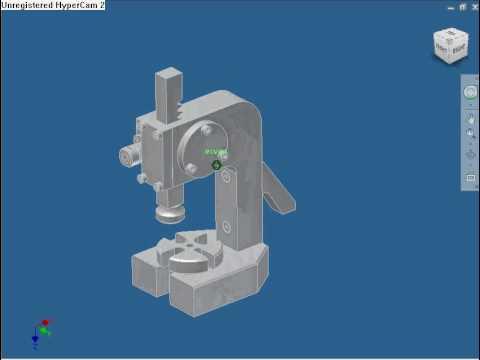 Make arbor press autodesk inventor, aluminum storage shed