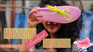 Monsoon Shopping on Hill Road Bandra   Found the perfect Gum Boots   PinkPepperCorn