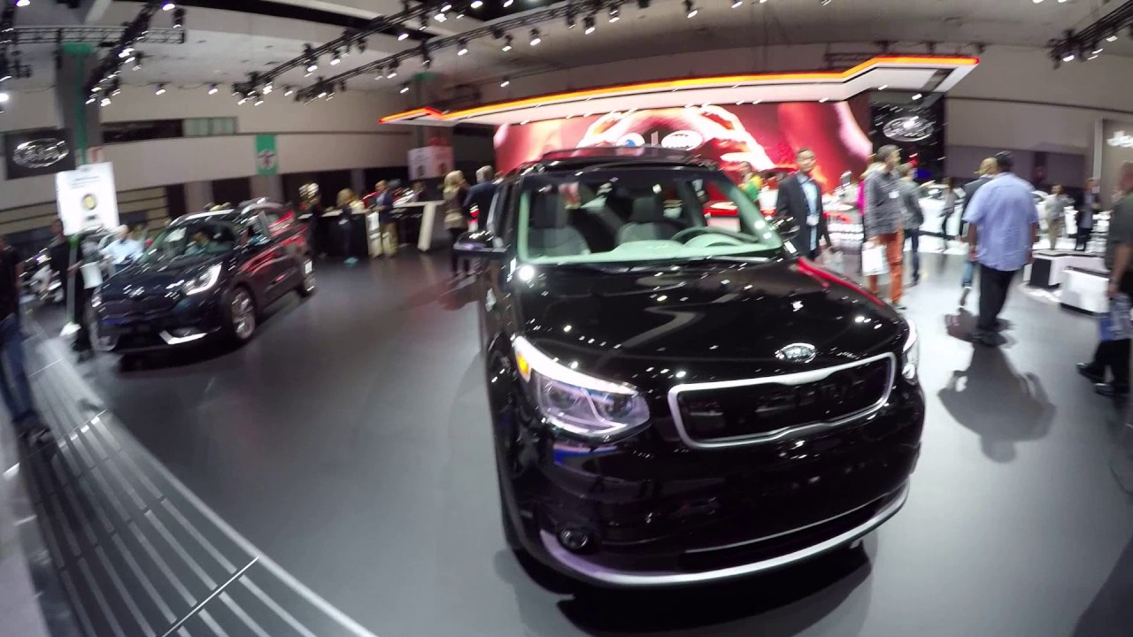 2017 Kia Soul Electric Vehicle 93 Miles Range La Auto Show
