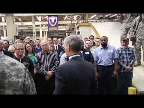 Secretary of the Army visit to the WATERVLIET ARSENAL - 26 SEP 2013