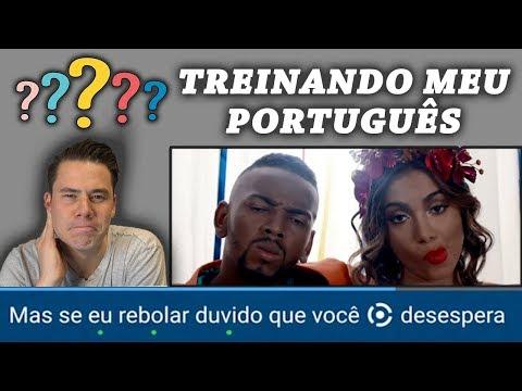 """Gringo treinando seu português com """"Você Partiu Meu Coração"""""""
