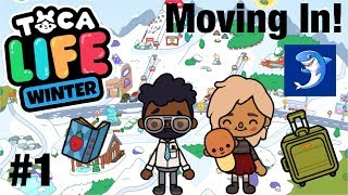 Toca life Winter | Moving In! #1
