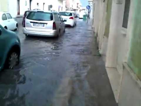 Acqua alta a nard 3 i video dei lettori di portadimare - Porta di mare cronaca nardo ...
