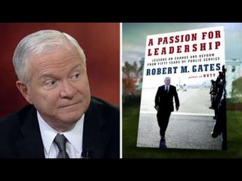 Robert Gates discusses new book 'A Passion for Leadership'