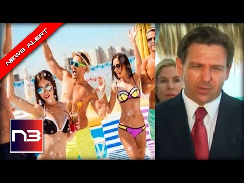 PARTY TIME!!! DeSantis SUSPENDS Restrictions in Florida With The Stroke of His Pen