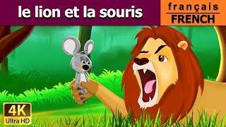 Le Lion et la Souris | Histoire Pour S'endormir | Contes De Fées Français