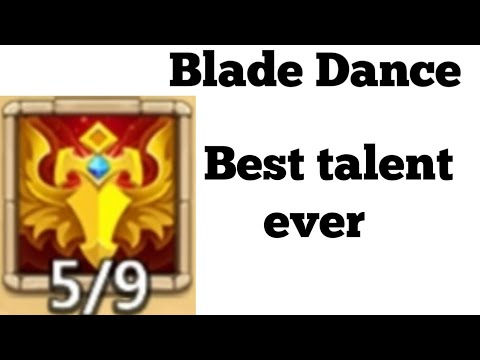 New Talent | Blade Dance | Is OP AF | Castle Clash