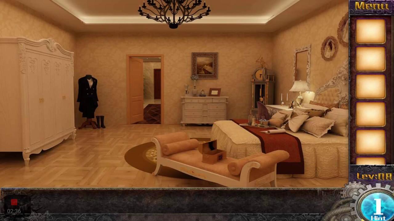 Escape Game 50 Rooms 1 Level 8 Walkthrough Youtube