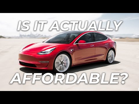 Is The Tesla Model 3 Actually An Affordable Car?