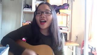 Mặt trời của em - Phương Ly ft Justa Tee || Guitar Cover | Mai Trinh