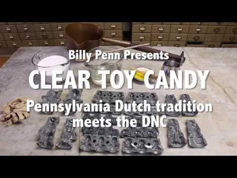 Clear toy candy: Pennsylvania Dutch tradition meets the DNC