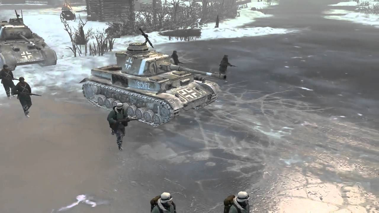 Company Of Heroes 2 Cold Snow And Ice Tutorial Youtube
