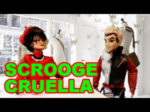 Cruella De Vil As Scrooge In A Christmas Carol Disney Descendants