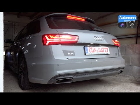 2016 Audi A6 Avant 3.0 TDI Competition (346hp) - pure SOUND (60FPS)