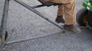 Redneck Lawnmower Lift
