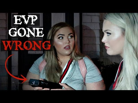 1800s HAUNTED Church... *Spirit Box Session Gone VERY Wrong* Loey Lane, Hailey Reese & AndrewTMI