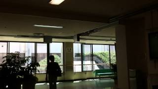 Card conveyor at yamanashi university hospital 山梨大学医学部