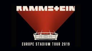 анонс: Rammstein - Europe Stadium Tour 2019 (Trailer II)
