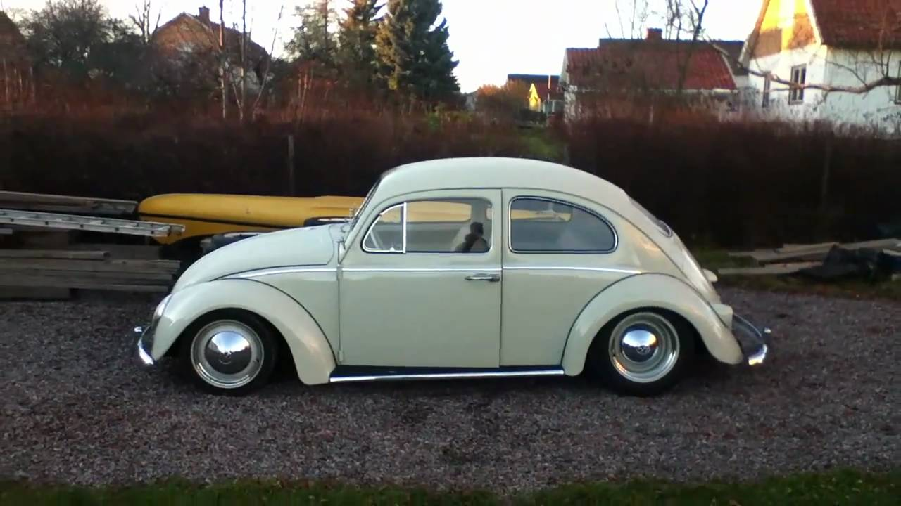 My '64 VW Beetle running - YouTube