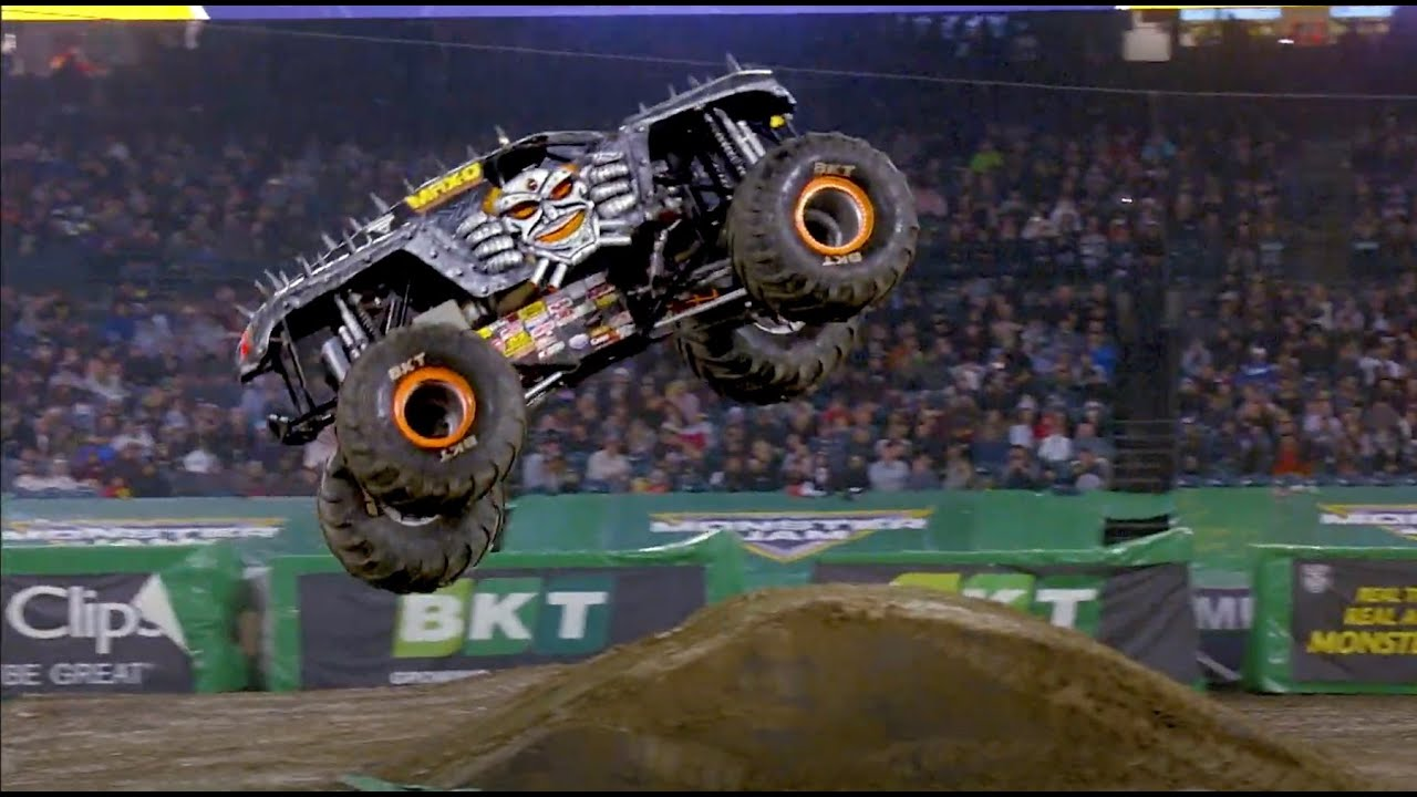 Monster Jam - 2020 - Angel Stadium - Anaheim CA - 2