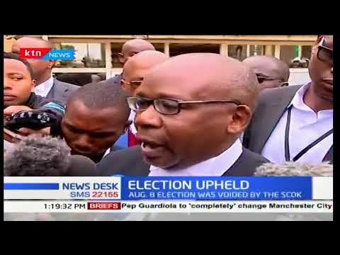 Attorney General Prof. Githu Muigai calls for review on the law on filing petitions