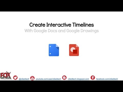 Create Interactive Timelines With Google Docs And Google Drawings - How to create a timeline on google docs