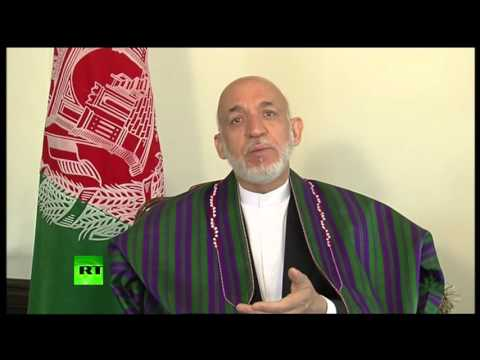 'US bombing harming civilians, not stopping terrorists' – Hamid Karzai