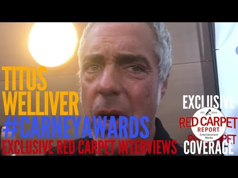 Titus Welliver ed at 2017 Carney Awards CarneyAwards