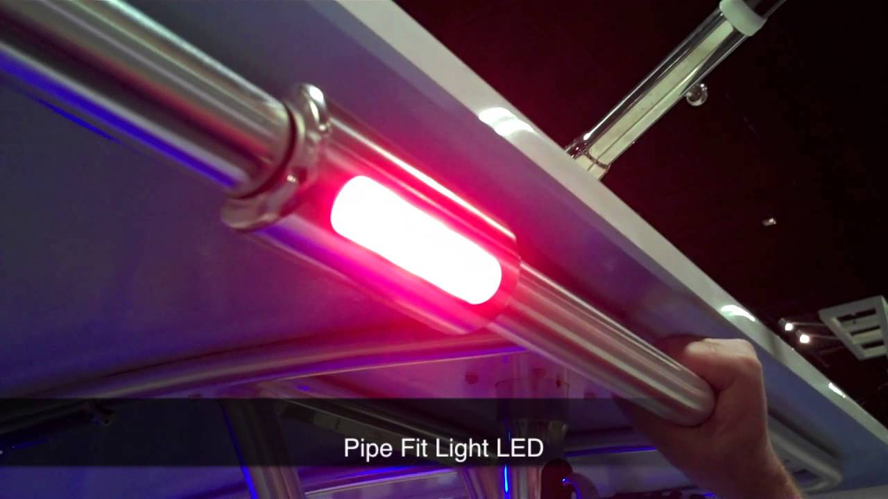 taco marine led lights demonstrated at the miami international boat