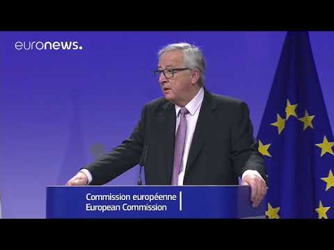 [Watch in full] EU Commission President Juncker and British PM May press conference on Brexit deal