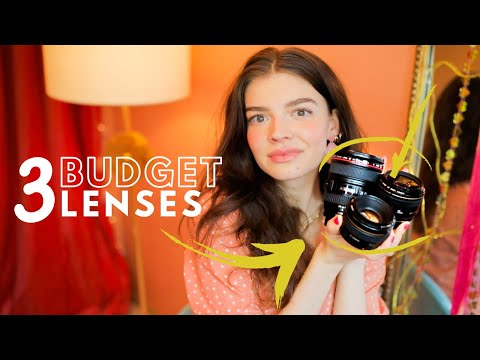 3 Budget Camera Lenses For Canon | Portait, Travel, Product, Wedding, And Videography