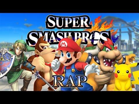 SUPER SMASH BROS RAP - Aplasta a tus Rivales | Keyblade, Zarcort, Sharkness, Jacky & Kronno