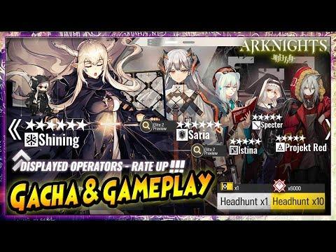 GACHA Lagi..!! SHINING [Healer] & SARIA [Defender] *6 - ARKNIGHTS Indonesia