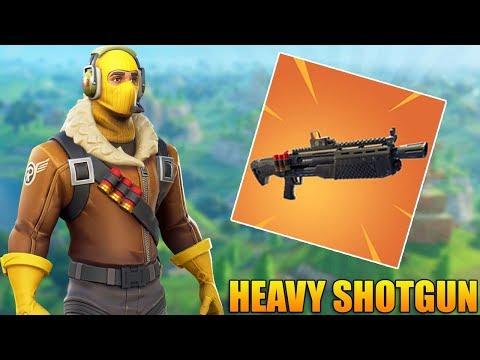 NEW HEAVY SHOTGUN! (Coming Soon)  - Fortnite Battle Royale Gameplay - 1100+ Wins - (PS4 PRO)
