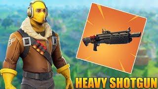 NEW HEAVY SHOTGUN! (Coming Soon)  - Fortnite Battle Royale Gameplay - 1100+ Wins - (PS4 PRO) thumbnail
