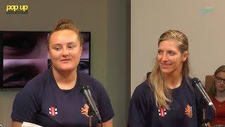 PopUpTv: Lisa en Denise uit Schiedam zijn geselecteerd voor het WK-kwalificatietoernooi cricket