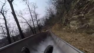Great Wall Alpine Slide CRASH!