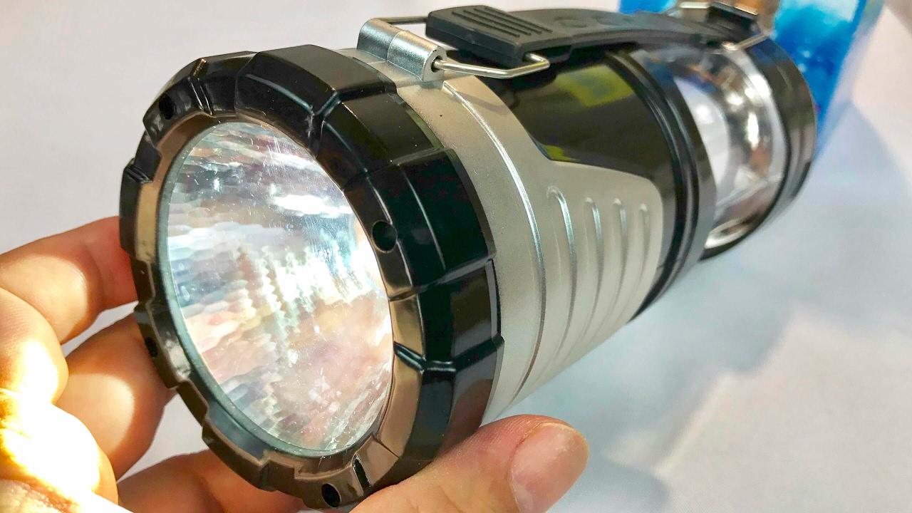 Flashlights Multifunctional LED Camping Lantern Fan Rechargeable Light//Lamp