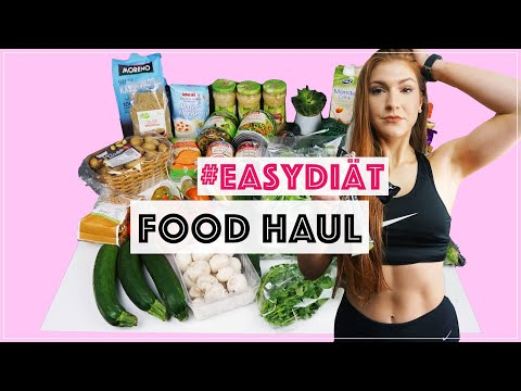 #EasyDiät Veganer 🌱 Lebensmitteleinkauf Zum Abnehmen 🔥 Food HAUL | MrsSuperSophia