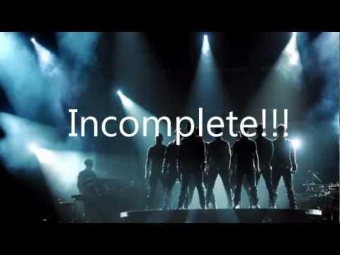 Backstreet Boys Incomplete lyrics HD