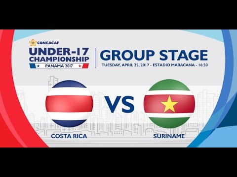 CU17PAN: Costa Rica vs Suriname
