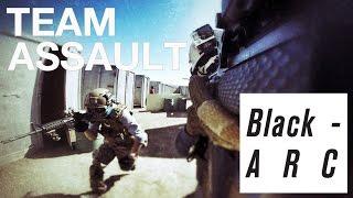 Team Assault | Black-ARC Airsoft Team | code red Airsoft field walk-in Games