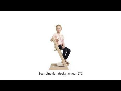 Пластиковая вставка для стульчика Stokke Tripp Trapp мятный. Видео №2