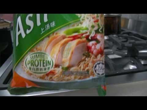 Rendang & Pulut (Glutinous Rice) + Cintan Chicken Noodles