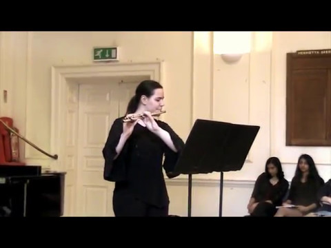 ABRSM Flute 2017 Grade: 8; 3. Allegro: 1st. movt from Sonata No.1 in E minor (Op. 58 No. 1) Devienne