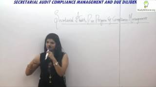 Secretarial Audit, Compliance Management & Due Diligence for CS Professional by CS Disha Kalra